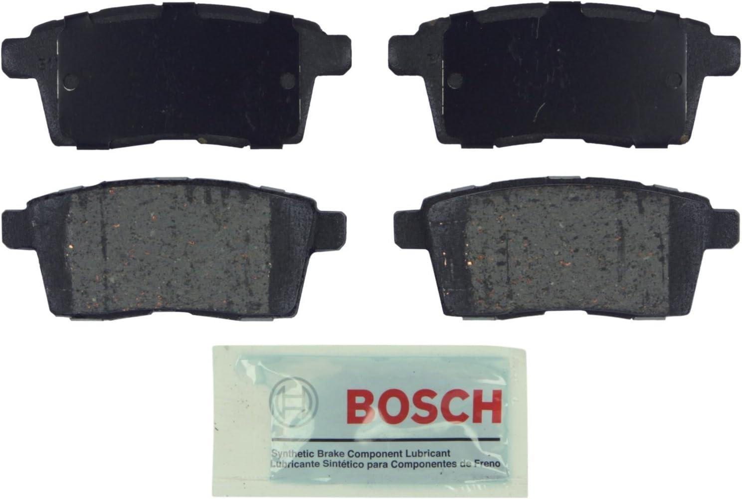 Disc Brake Pad Set-Blue Brake Pads with Hardware Rear Bosch BE1212H