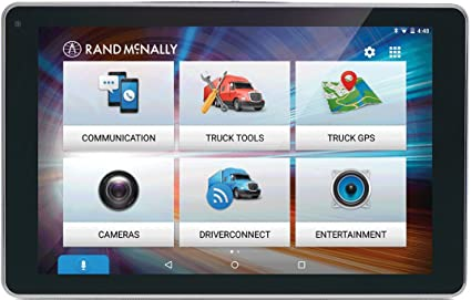 Rand Mcnally Gps >> Rand Mcnally Overdryve 8 Pro 8 Truck Gps Tablet With Dash Cam And Bluetooth