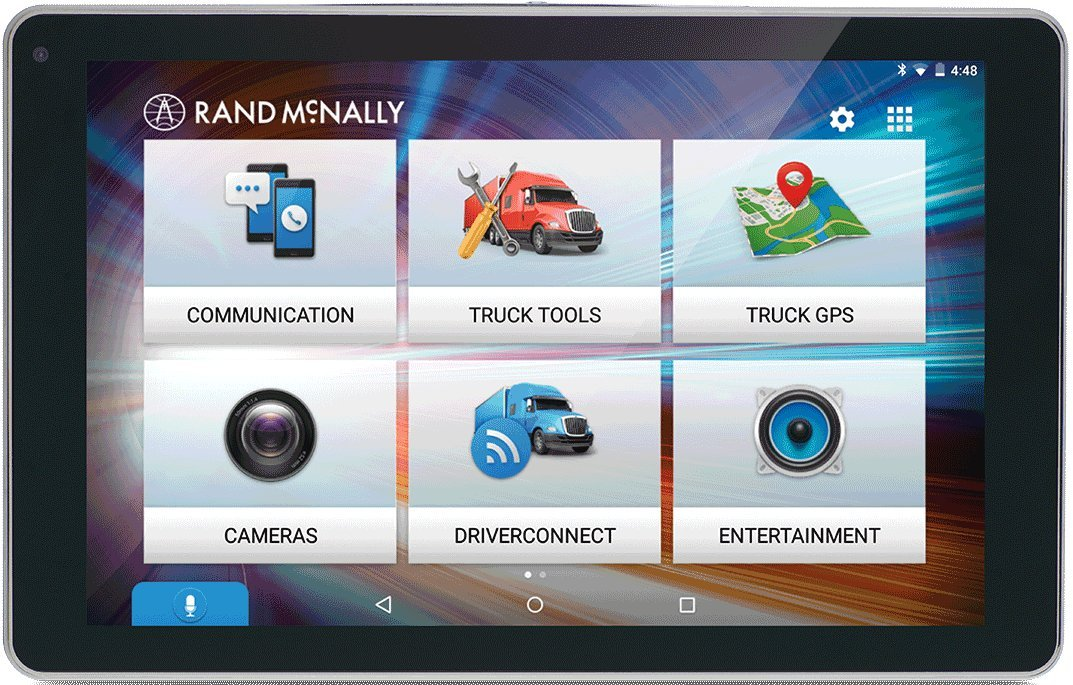 Rand McNally OverDryve 8Pro 8'' Truck GPS Tablet with Dash Cam and Bluetooth by Rand McNally