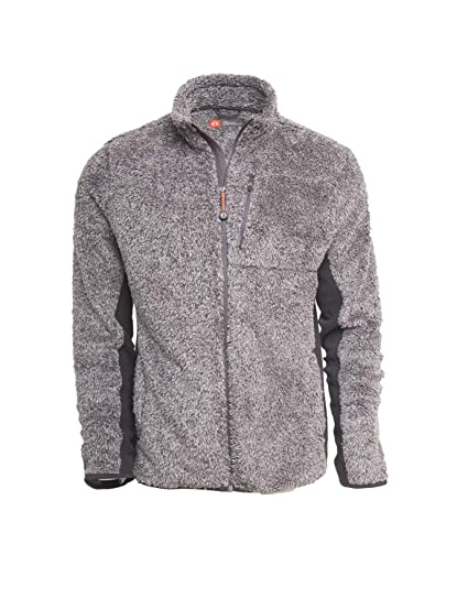 American Outdoorsman Grizzly Sherpa Full Zip Fall Sweater Jacket Men