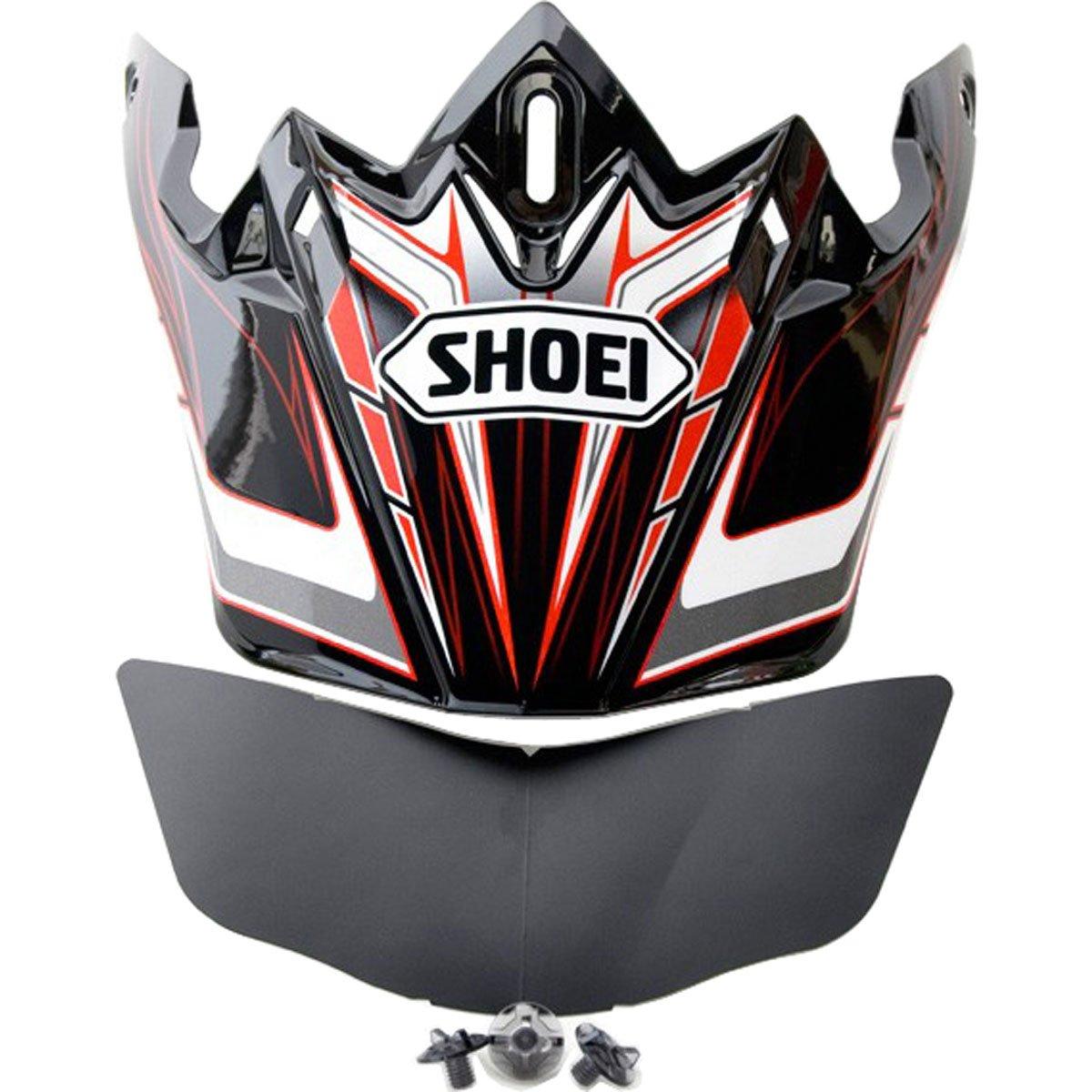 Shoei VFX-W Sleek Visor Malice Off-Road Motorcycle Helmet Accessories - TC-1 / One Size