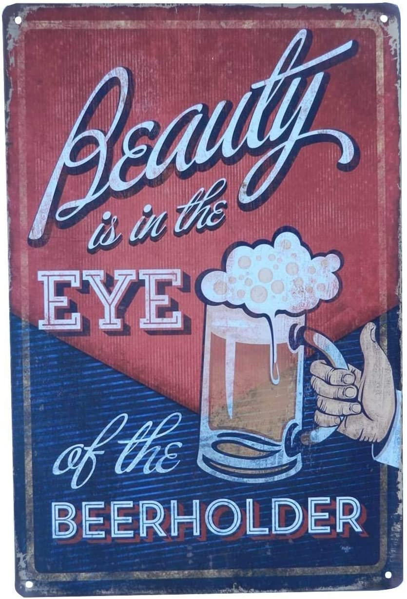 Beer Alcohol Drinks Retro Vintage Tin Signs Wall Decor Home Art Poster Bar Pub Diner Cafe 12x8 inch