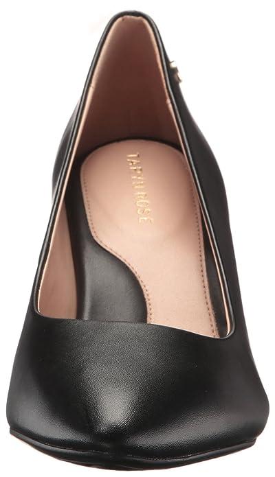 954cda64a38 Amazon.com  Taryn Rose Women s Tamara Soft Calf Pump Black 7 W Medium US   Shoes