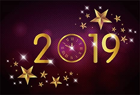 Runescape Christmas Event 2019.Aofoto 8x6ft 2019 Happy New Year Backdrop Merry Christmas Abstract Lucky Stars Background Time Clock Carnival Cocktail Party Decoration Holiday Eve