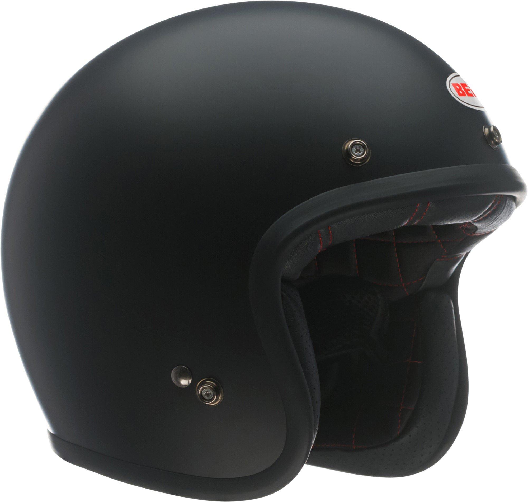 Bell Custom 500 Open-Face Motorcycle Helmet(Solid Matte Black, X-Large)