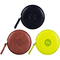 GZ Sewing Tape Measure Leather Retractable Body Measuring Tape 150 cm 60 Inch Tailor Fabric Small Tape Measure with Push…