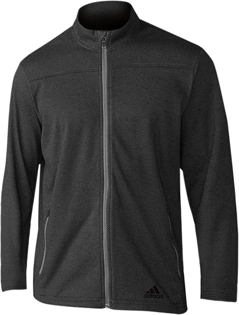 adidas Golf Men's Climawarm 1/4 Zip Fleece Sweater, Black, Large