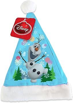 COOLMP – Lote de 6 Gorros Olaf Frozen Navidad – Talla única ...