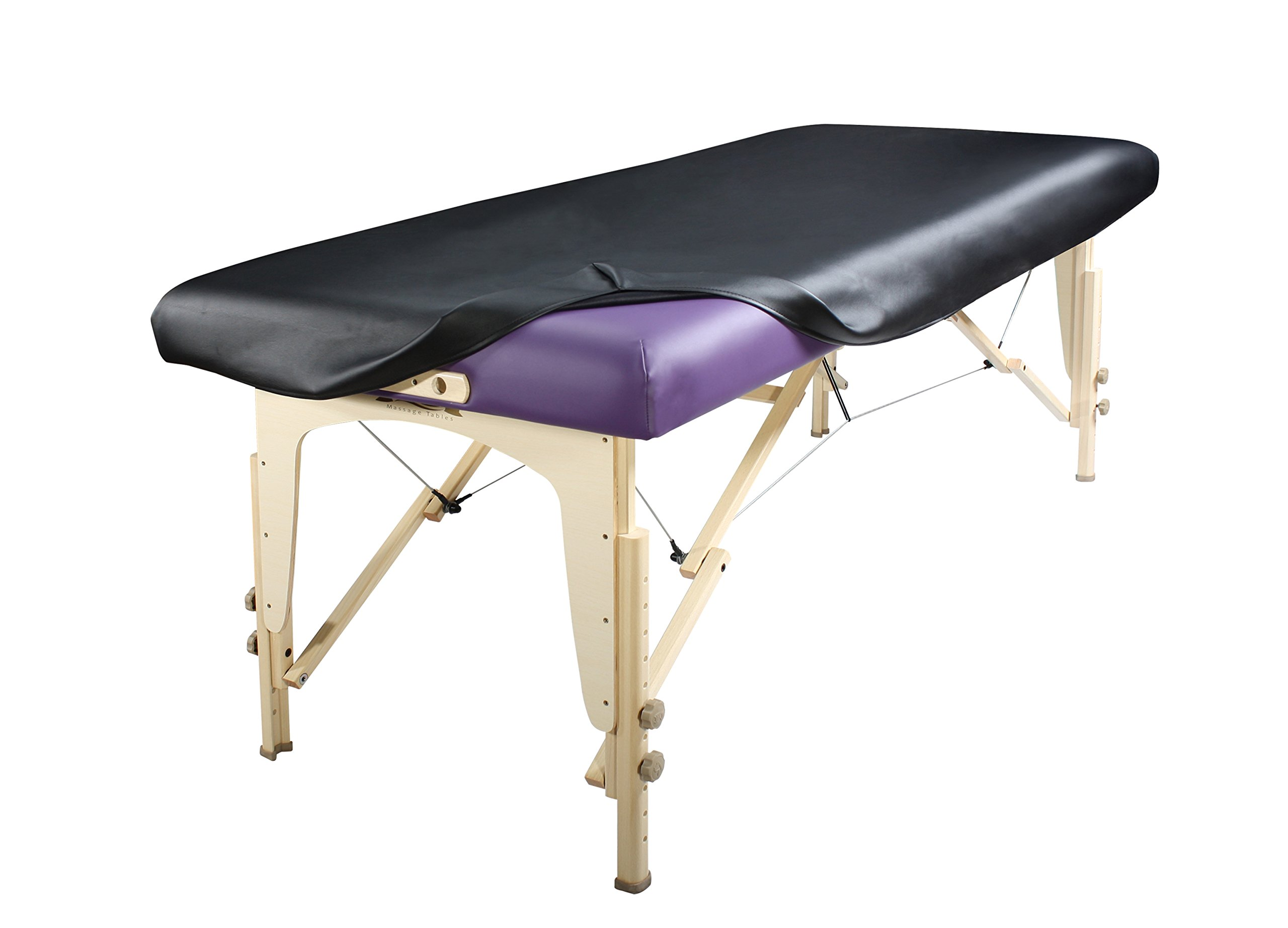 Master Massage Universal Fabric Fitted PU Vinyl leather Ultra-Durable Protection Cover Sheet for Massage Tables, 1 Count by Master Massage