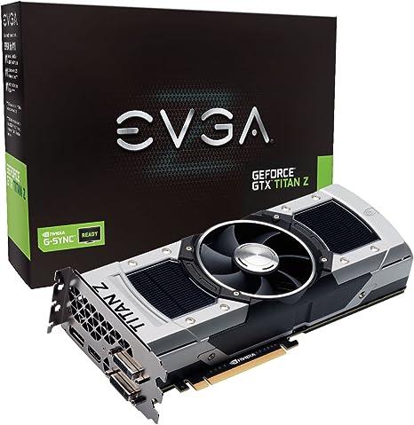 EVGA GeForce GTX TITAN Z 12GB GDDR5 768 Bit GPU Graphics Card (12G-P4-3990-KR)