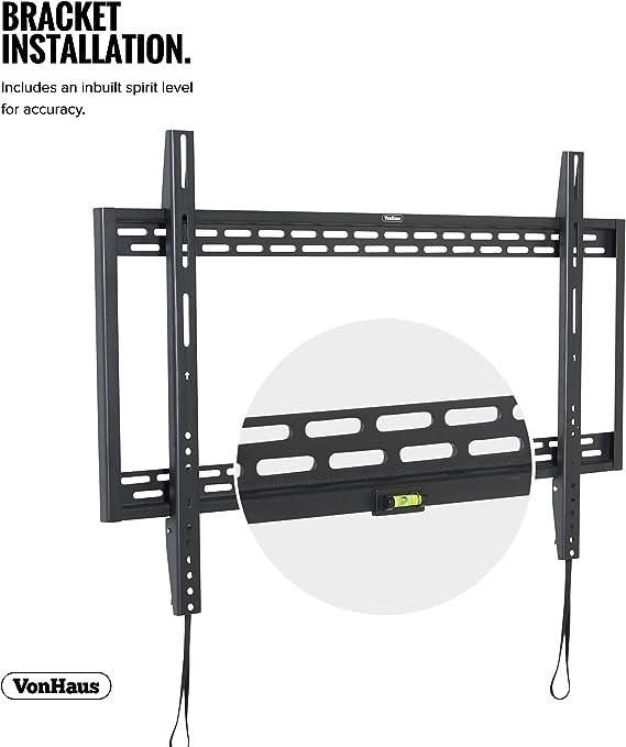 Vonhaus Tv Wandhalterung 60 100 Zoll Flache Elektronik