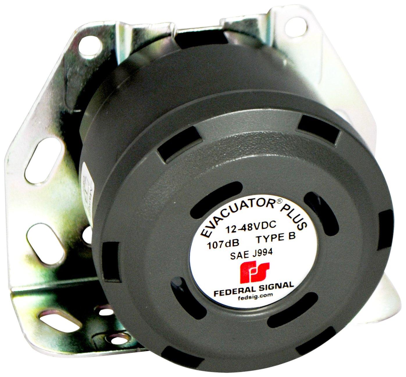 Federal Signal 201333SSG Evacuator Back-Up Alarm, Dual Function Universal mount