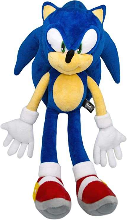 Amazon Com Sonic The Hedgehog Plush Hq Stuffed Toy Anime Gift For