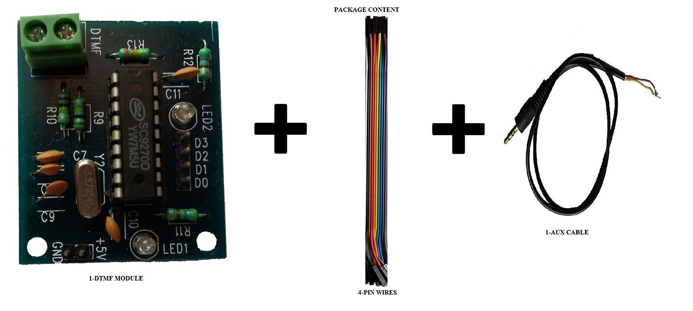 Embeddinators Dtmf Decoder Module Based Remote Control System