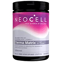 NeoCell Derma Matrix Powder, Collagen Type 1 & 3, Unflavored, 6.46 Ounces (Package...