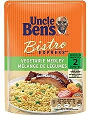 Uncle Ben's Bistro Express Vegetable Medley Rice, 250 Gram