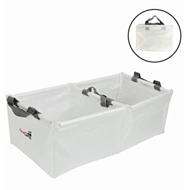 AceCamp Multifunctional Collapsible Water Basin, Folding Tub, Portable Bin, Lightweight Foldable Sink with Handles for Camping, Dish Washing, Laundry, Fishing, Hiking, Outdoors