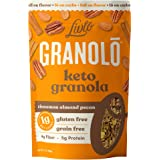 Livlo Keto Nut Granola Cereal - 1g Net Carbs - Grain Free & Gluten Free - Keto Friendly Low Carb Healthy Snack - Paleo & Diab