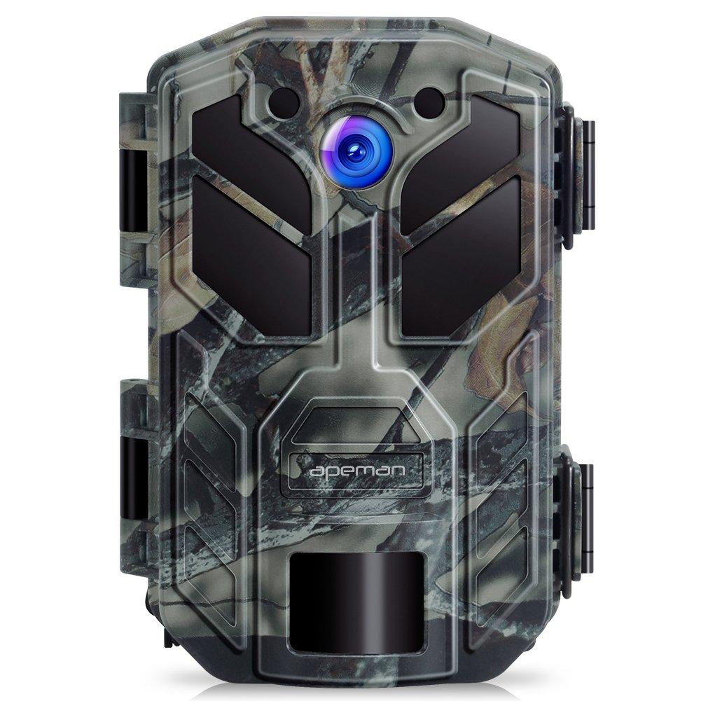 APEMAN Cámara de Caza 20MP 1080P HD 40 IR LED Trail Cámara de juego para nítido