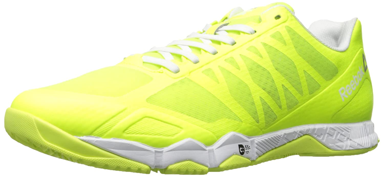 Reebok Women's Crossfit Speed Tr Cross-Trainer Shoe B01M8I5RKK 8 B(M) US|Solar Yellow/Silver Metallic