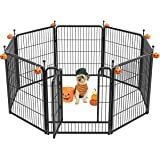 """FXW Dog Playpen Outdoor, 8/16/24/32 Panels Dog Pen Indoor 32"""" Height Dog Fence Exercise Pen with Doors for Large/Medium/Small"""