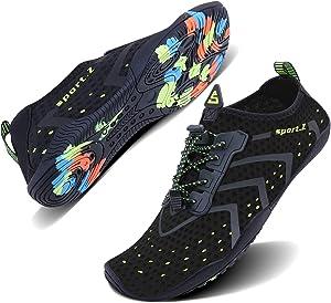 Free WXDZ Men Women Water Sports Shoes Quick Dry Barefoot…