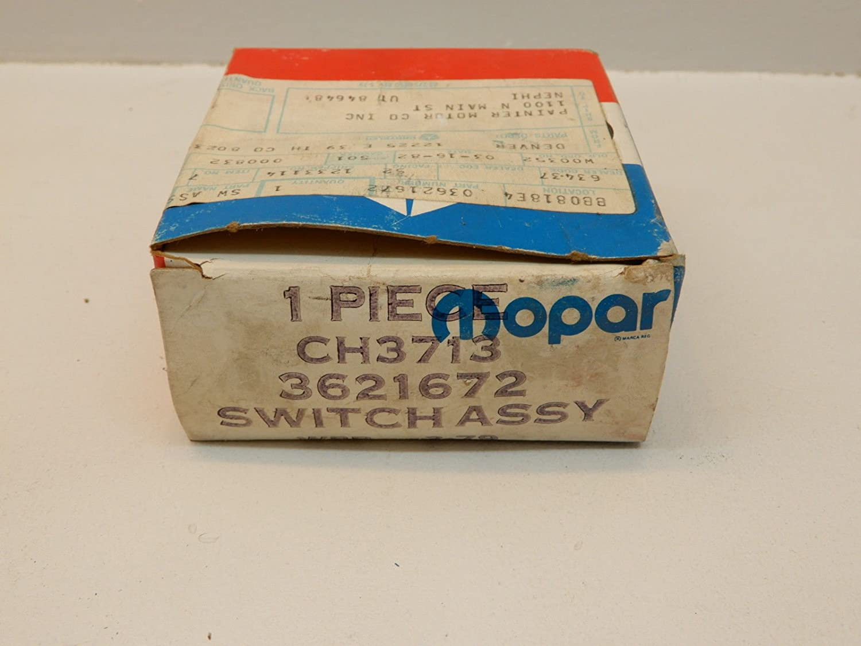 Amazon com: NOS MoPar Windshield Wiper Switch for 1972 1973