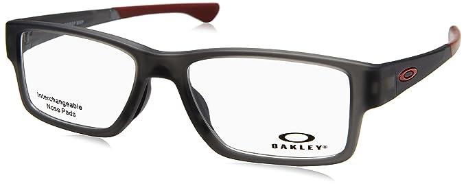 2631ebdbd0 Amazon.com  Oakley - Airdrop Trubridge(55) - Satin Gray Smoke Frame ...