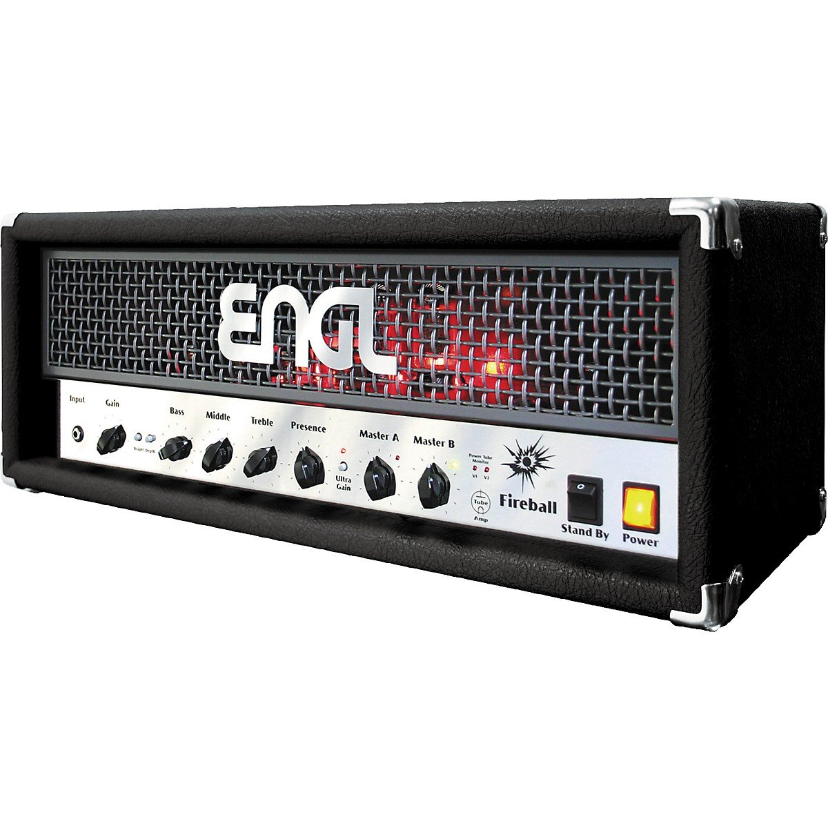 Amazoncom Engl Fireball 60 60w Tube Guitar Amp Head Black Musical Bass Amplifier Instruments
