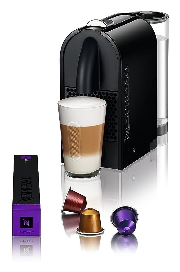 Nespresso U Pure Black EN110BAE DeLonghi - Cafetera monodosis ...