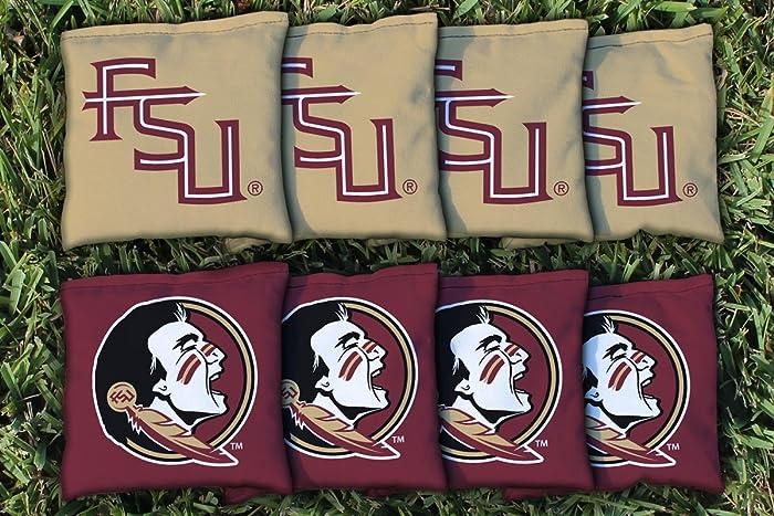 Florida State University FSU Cornhole Bag Replacement Set