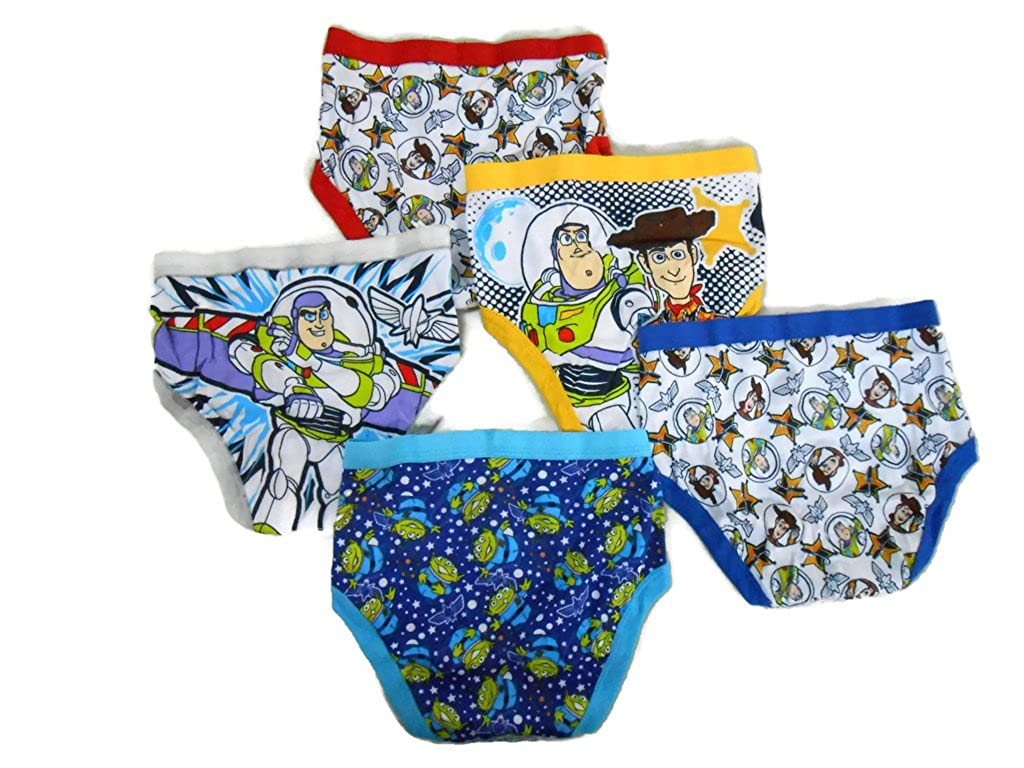 Disney boys Little Boys' Toy Story 5-Pack Brief Handcraft BUP7367