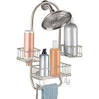 InterDesign Classico Adjustable Bathroom Shower Caddy for Tall Shampoo