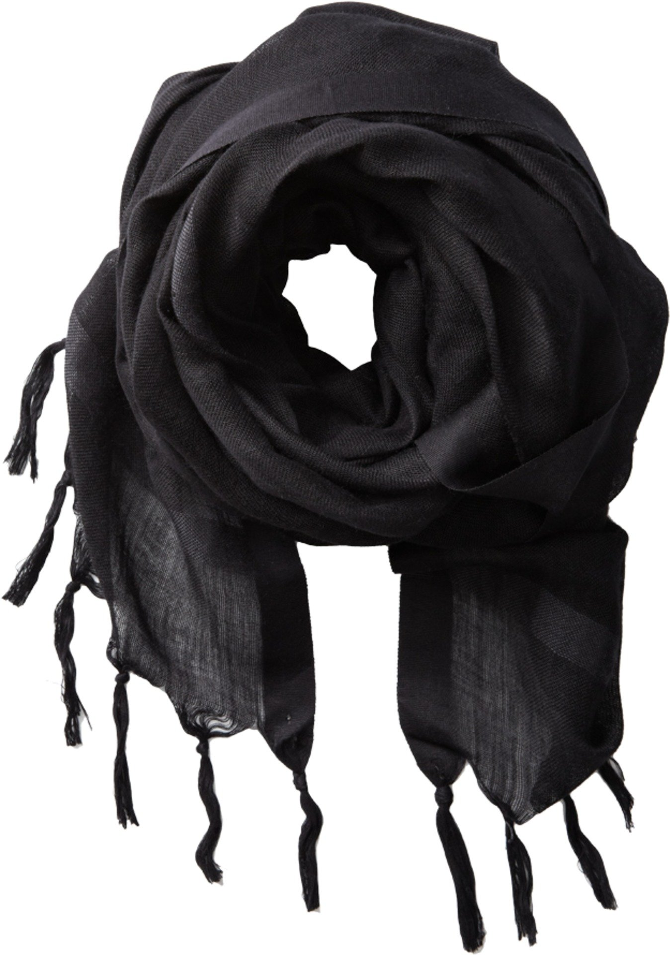 Love Quotes Women's Knotted Tassel Linen Scarf, Meditation, One Size