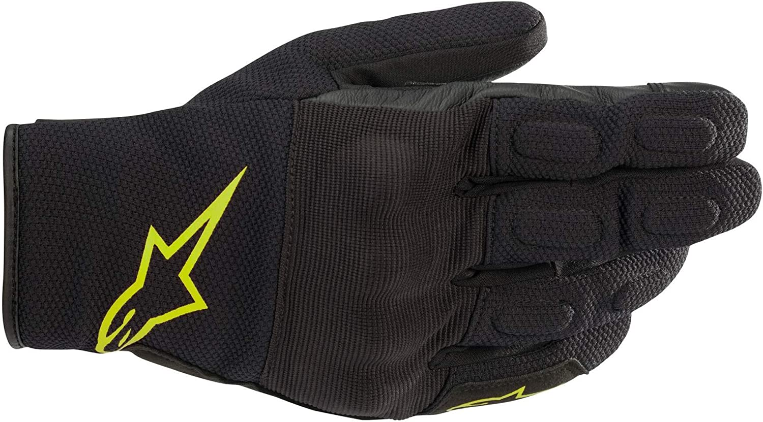 BLACK//YELLOW//FLUO L Alpinestars Gants moto S Max Drystar Gloves Black Yellow Fluo