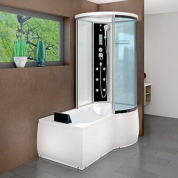 AcquaVapore DTP8055-A001L Wanne Duschtempel Badewanne Dusche ...