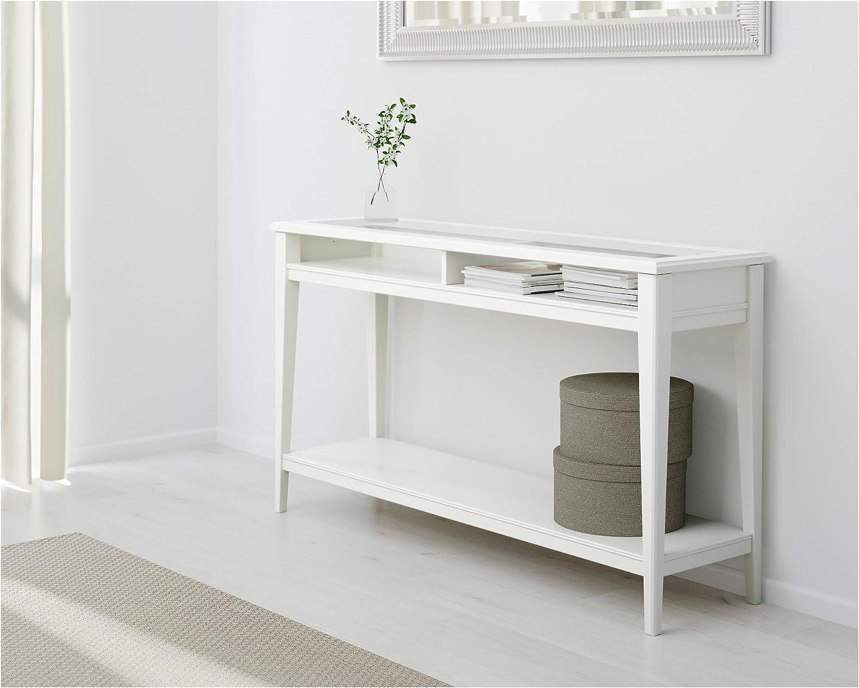 IKEA Liatorp - Mesa de Consola (Cristal), Color Blanco ...