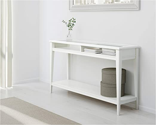 IKEA.. 001.050.64 Liatorp - Mesa Consola (Cristal), Color Blanco ...