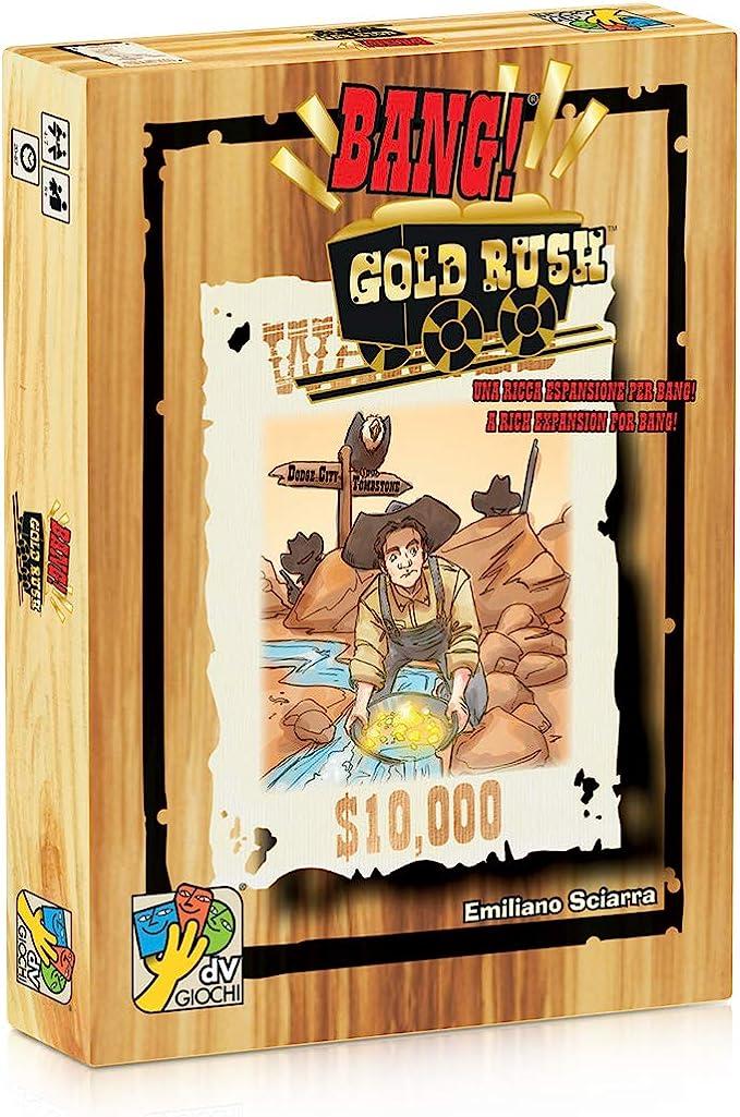 DaVinci Editrice Bang! Gold Rush - Expansión de juego de cartas (en inglés) , Modelos/colores Surtidos, 1 Unidad: Amazon.es: Juguetes y juegos