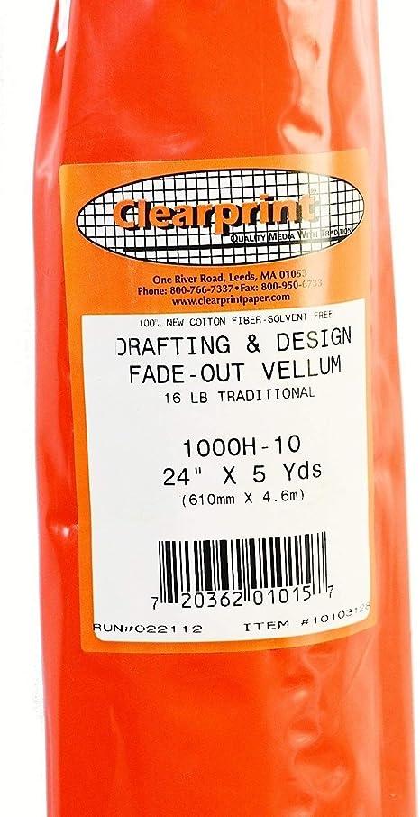 Clearprint Vellum 1000H 24In X 20Yd Roll