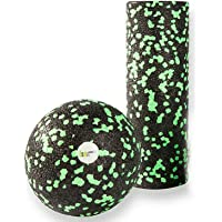 Balance Roll - Mini Rolle & Ball 8 - Faszienrolle - Made in Germany (Rolle klein & Ball)