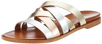 Marco Tozzi Premio Damen 27124 Pantoletten, Mehrfarbig (Silver Comb), 38 EU