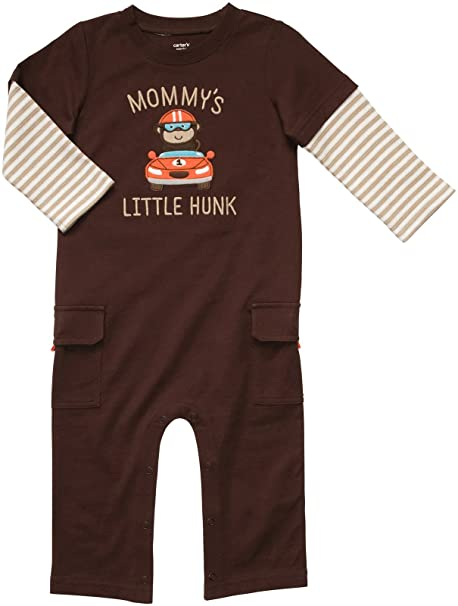 af60915b3 Amazon.com  Carter s Infant Long Sleeve One Piece Coverall-Mommy s ...