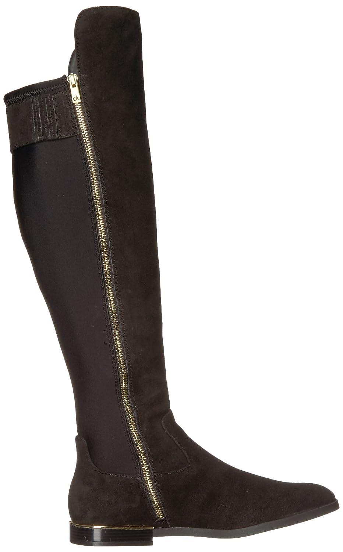 Calvin Klein Women's Priya Over The Knee Boot B074CLVPZ1 11 B(M) US|Black Suede/Stretch-3