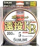 サンライン(SUNLINE) ナイロンライン 磯スペシャル 遠投 カゴ・ぶっこみ 200m 5号