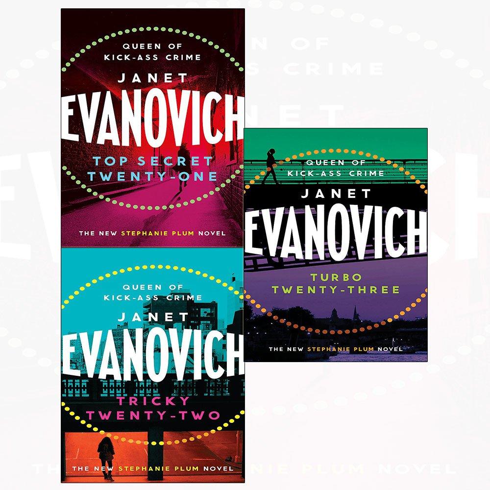 Stephanie plum series top secret twenty-one, tricky twenty-two, turbo twenty-three 3 books collection set PDF