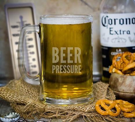 Beer Glasses Funny Giant Beer Glass Funny Beer Mug By Gemsho Glass Dumbbell Beer Glass Funny Beer Glasses Beer Mugs For Men Cool Beer Glasses Set of 1 Dumbbell Beer Glass