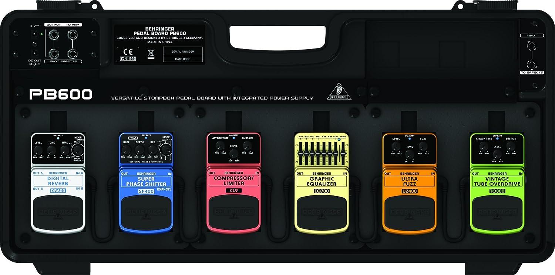 【 並行輸入品 】 Behringer (ベリンガー) PB600 Guitar Floor Multi-エフェクトペダル Board   B00JEFLLOG