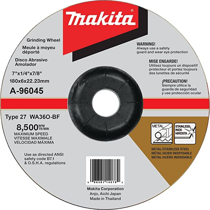Makita XAG12PT1 18V X2 LXT (36V) Brushless 7