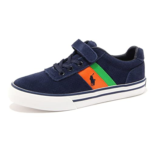 Ralph Amazon Shoe Sneaker it Lauren Kid Blu 3197u Polo Scarpa Bimbo rZrnHfq